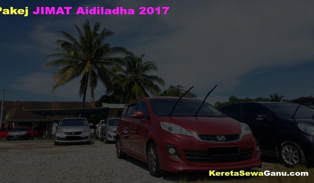 Pakej JIMAT Raya Aidiladha 2017 Kereta Sewa di Terengganu