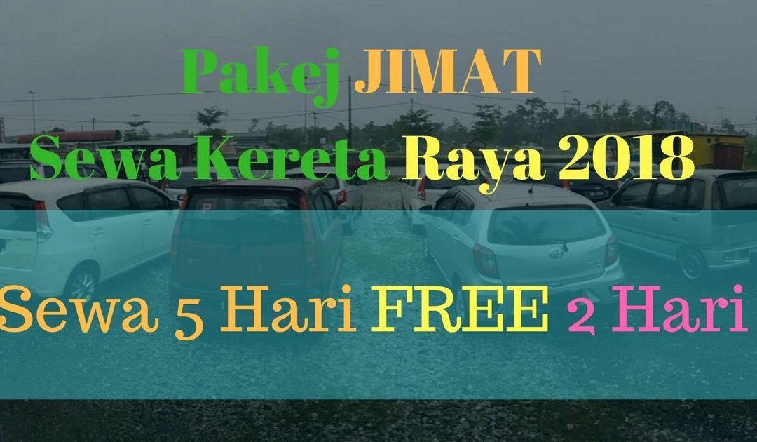 Pakej RAYA 2018 Sewa Kereta Terengganu – Sewa 5 Hari FREE 2 Hari